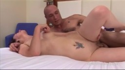 Cheating housewife fucked at lunchtime