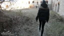 Scopata casuale outdoor in una fortezza abbandonata - POV - LustTaste