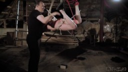 Bdsm and bondage sex with a passionate teen that wants to be punished