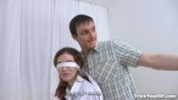 Trick Your GF - Gisha Forza - Stranger fucks blindfolded gf