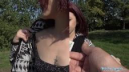 Public Agent Hot Blonde Lola Fae fucked by Euro guy