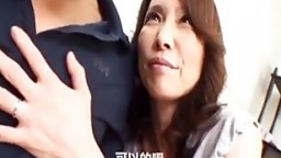 Japanese cougar loves to play naughty