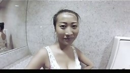 Big Tit Asian chick fucked in public p1
