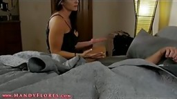 Horny boy fucked his stepmom