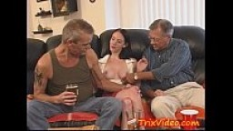 Young Teen Does DADDY and UNCLE