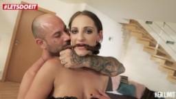 LETSDOEIT - Big tits brunette gets fucked hard