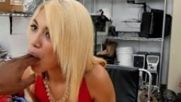 BLACK LOADS - Petite Latin Teen Giselle D. Ambrosia Takes Big Black Dick