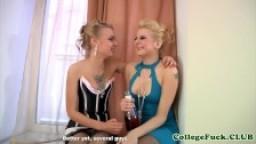 College teens sexy lingerie dorm fuckfest