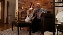 Old Goes Young - Cutie comes for a photo and an orgasm
