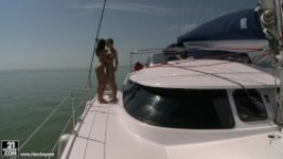 Boat Anal Threesome