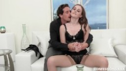 Young & Natural Danni Rivers Has A Hardcore Blindfold Rough Sex Fantasy