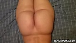 Redbone hotwife with her black bull and hubby films