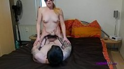 Beautiful Hotwife In Cuckold Threesome With a Coworker