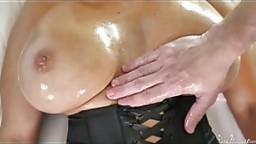 Ava Addams Mature Boobs & Pussy Rub