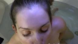 Lelu Love-POV Bathtub Blowjob Cumshot On Tits