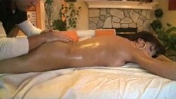 Fit sexy babe gets massaged and fucked