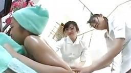 Japanese lesbian trio