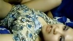 Fucked young wife pretty and horny Indonesian hotties scandal
