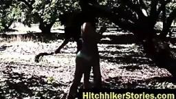 HelplessTeens Jade Jantzen endures domination and outdoor rope bondage