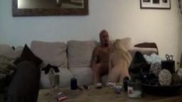 Sucking off the Neighbor on Cam