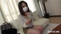 Shy Asian masturbation caught on spy cam