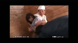 Japanese teen force fucked