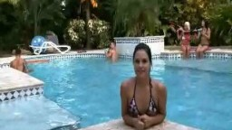 Brandi Belle Fun with the Pool Boys Part 1