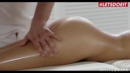 LETSDOEIT - Russian Bombshell Teen Liya Silver Has Erotic Massage Sex With An Anal Surprise