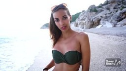 Hot Teen Creampied In Public - Sex On The Beach