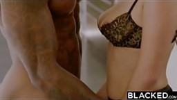 BLACKED Karlee Grey Fucks Her Biggest BBC Fantasy