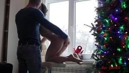 PERFECT BODY TEEN FUCKS NEAR THE WINDOW. MIA BANDINI