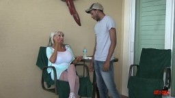 Mature MILF loves  hot YOUNG COCK  and cant get enough Sally D'angelo  #milf #interracial  #bigboobs #bigcock #BBC