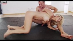 he destroys her in sexfight f. sex f. blowjob