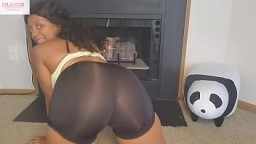 Busty Ebony IslaCox Cheats on Husband & Gets Creampied by Huge White Cock