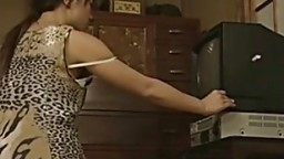 Japanese Wife Watching Porn
