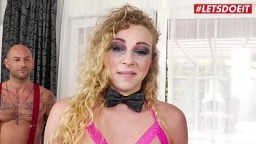 LETSDOEIT - #Mike Angelo #Angel Emily - Dirty French Teen Ass Lick Her Lover And Gets Rough Anal
