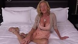 Mature Nympho Cougar Fucks Your Cock like Teenager POV