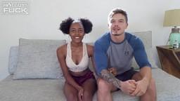 Ebony Babe Destiny Treats Raphael By Shoving His Cock Down Her Throat!