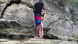 BigDaddyKJ: Interracial Couple Fucks On Hike | Preview 10 min