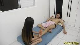 Depois Da Massagem Novinha Sentou Gostoso (COMPLETO NO RED) 10 min