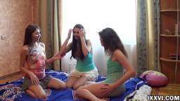 Youth Orgy with my step sister and her girlfriends from college. Ananta Shakti with Jay Dee and Helena Him 10 min