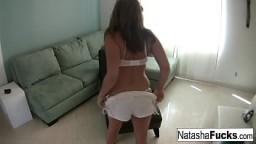 Natasha Nice enjoys a little alone time by herself 6 min