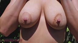 Cumming in panties of my stepsister in the garden 9 min