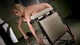 The gorgeous nurse Lara, gets punished about blackmailing. Part 2. 15 min