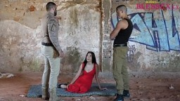 Thressome with a teen at outdoor - Magic Javi & Paola Hard & El Dandy 11 min