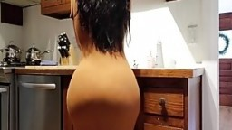 Help! Step Son I'm Stuck In The Kitchen Sink! Please Don't Fuck My Big Ass!.